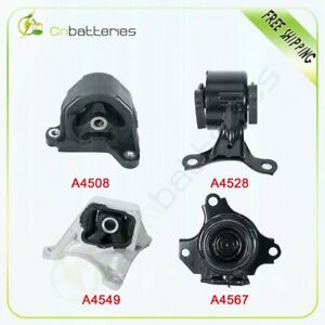 Motor Trans Mount For 2002 2006 Acura Rsx Type S 2 0l 4pcs Manual Trans