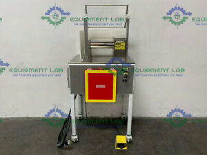 Stainless Steel Two Roll Lab Mill W 1 Hp Motor On Rolling Cart 208 460v