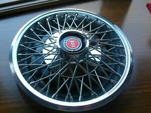 77 78 79 80 Ford Mustang Wire Hubcap Wheelcover 13 Nos