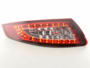 Porsche 911 997 Clear Led Tail Lights 07 2004 2008 Coupe Cabrio
