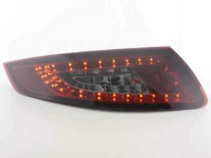 Porsche 911 997 Smoked Led Tail Lights 07 2004 2008 Coupe Cabrio