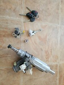 Toyota Camry Steering Column Ignition Switch Cylinder With 3 Keys Oem 2007 2011