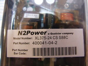 N2power Xl375 24 Cs 24 Volt Ac dc Power Supply Brand New