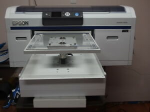 Epson F2000 Dtg Printer Excellent Condition Lightly Used