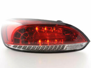 Vw Scirocco Clear Led Tail Lights Rear Lamps 2008 2014 Model