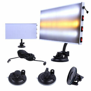 Car Body Paintless Dent Repair Removal Doctor Pdr Tools Led Light 3 Strips Lamp