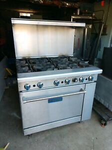Imperial 6 Burner With Standard Oven Natural Gas Model ir 6 Excellent