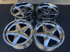 Azev Mercedes Wheels Staggered Set 5x112 Deep Lips 17x8 5 17x10