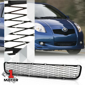 For 2007 2008 Toyota Yaris X Mesh Matte Black Abs Front Lower Bumper Grille