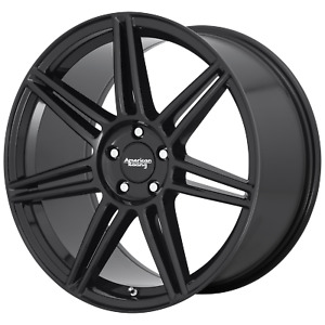 American Racing Ar935 20x10 5x120 40mm Gloss Black Wheel Rim 20 Inch