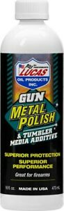 Lucas Oil 16oz Gun Metal Polsh Tumbler Media Additive Liquid 10880 $22.18