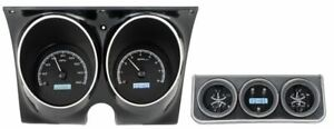 Dakota Digital 67 Camaro Firebird With Console Gauges Analog Kit Vhx 67c cac k w