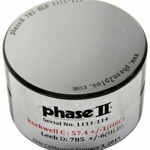 Phase Ii Pht1100g 01 For G Impact Devices Hlg Leeb Test Block