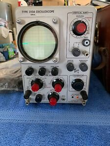 Oscilloscope Type 310a Vintage Tektronix Inc Case And Much More Vintage