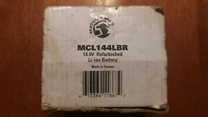 Matco Mcl144lbr Lithium Ion Battery Refurbished