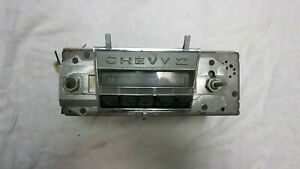1966 1967 Chevy Ii Nova Original Gm Delco Am Push Button Radio
