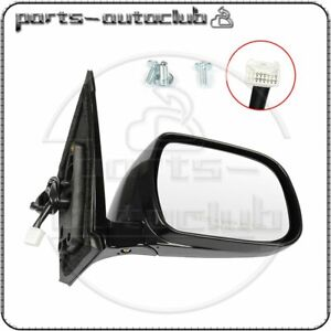 For 2004 09 Lexus Rx330 rx350 rx400h Right Mirror Black Memory Power Heated