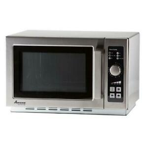 Amana Rcs10dse 1000 Watt Dial Type Commercial Microwave Oven