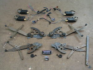 1977 1978 1979 Chevrolet Caprice Wagon Window Regulator Electric Motor Full Set