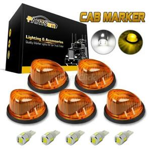 5 1313a Roof Running Round Light Amber Cover 5730 194 White Led For 69 87 Chevy