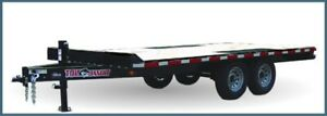 Flat Bed Deckover 14 000 Gvw by Tow Bandit