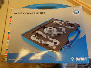Unior 2027 2 Hub And Wheel Drum Puller Like New Plus Extensions