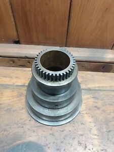 Nice Original South Bend Heavy 10 10l Lathe Headstock Spindle 3 Step Cone Pulley