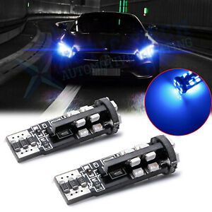 Ice Blue T10 2825 Error Free Led Parking Eyelid Lights Bulbs For Audi Mercedes
