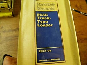 Cat Caterpillar 963c Service Manual 2ds1 up