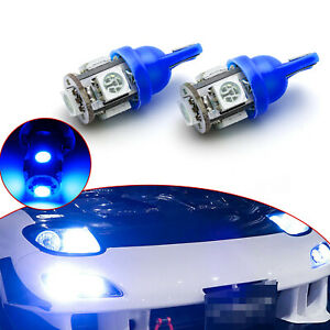 Ice Blue T10 Error Free Led Parking Light Bulbs For Audi A3 A4 A5 A6 A8 Q7 Tt