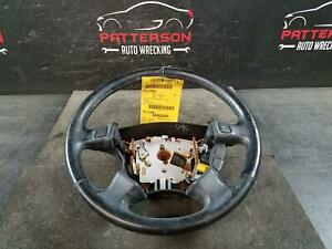 1996 Honda Accord Leather Wrapped Steering Wheel W o Accessory Controls