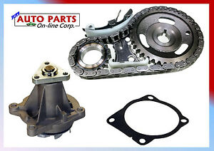 New Timing Chain Kit Water Pump L4 2 2l Ohv Chev Cavalier 94 02 S10 Pickup Llv