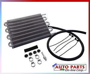 Universal Heavy Duty Transmission Cooler All Vehicles Ford Gmc Dodge Chevrolet