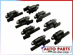 Ignition Coils Escalade Avalanche Express 1500 Gmc 07 13 5 3l 6 0l 6 2l 8 Pcs