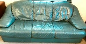 Office Business Furniture Home Leather Couch Sofa Local Pick Up Only