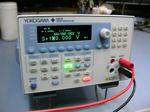 Yokogawa Gs610 Sourcemeter 0 110v 3 2a Flawless Condition See Photos