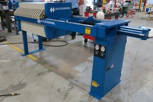 New Mw Watermark Filter Press W Plates 630mm 5 10 Cuft Expandable Buy Or Rent