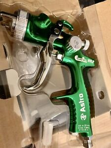 Astro Pneumatic Eurohv109 1 9mm Europro Hvlp Spray Gun With Plastic Cup