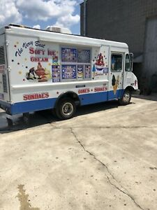 Soft Ice Cream Truck Workhorse Stepvan Electro Freeze Yanmar