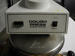 Dough Pro Dp1100 18 Heated Manual Pizza Tortilla Dough Press
