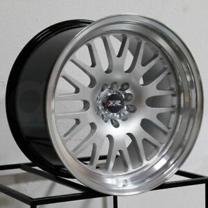 16x8 Xxr 531 4x100 4x114 3 20 Hyper Silver Ml Wheels Rims Set 4