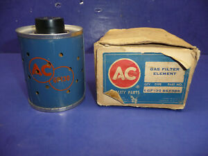 1957 1958 Corvette Pontiac Fuel Injection Ac Gas Fuel Filter Element Gf 130 Ct29
