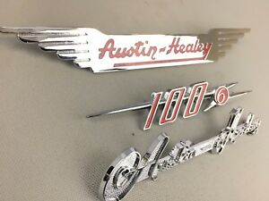 Austin Healey 100 6 Bn4 Bn6 Emblem Set Brand New