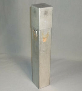 Bellco 16 Stainless Steel 2 75 Square Serological Pipette Can Sterilizing Box
