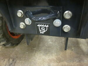 Kubota Bx23 Bx23s Tractor Loader Backhoe Front Tow Hook Hitch Tie Down Point
