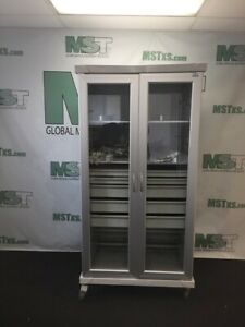 Solaire Innerspace Sr2gd Cabinet 2 Medical Healthcare Carts