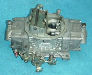 Used 4778 Holley Double Pump Carb Carburetor 700 Cfm Pumper Ford Chevy Amc