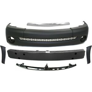 Bumper Cover Reinforcement Retainer Trim For 2003 2006 Toyota Tundra Front Kit