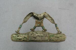 TACTICAL LOAD CARRYING BELT IN MULTICAM AIRSOFT MILSIM PAINTBALL COSPLAY GBP 29.99