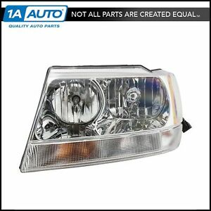 Headlight Headlamp Driver Side Left Lh For 99 04 Jeep Grand Cherokee Limited